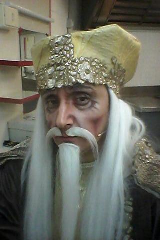 L'Imperatore Altoum ne La Regina di Ghiaccio
