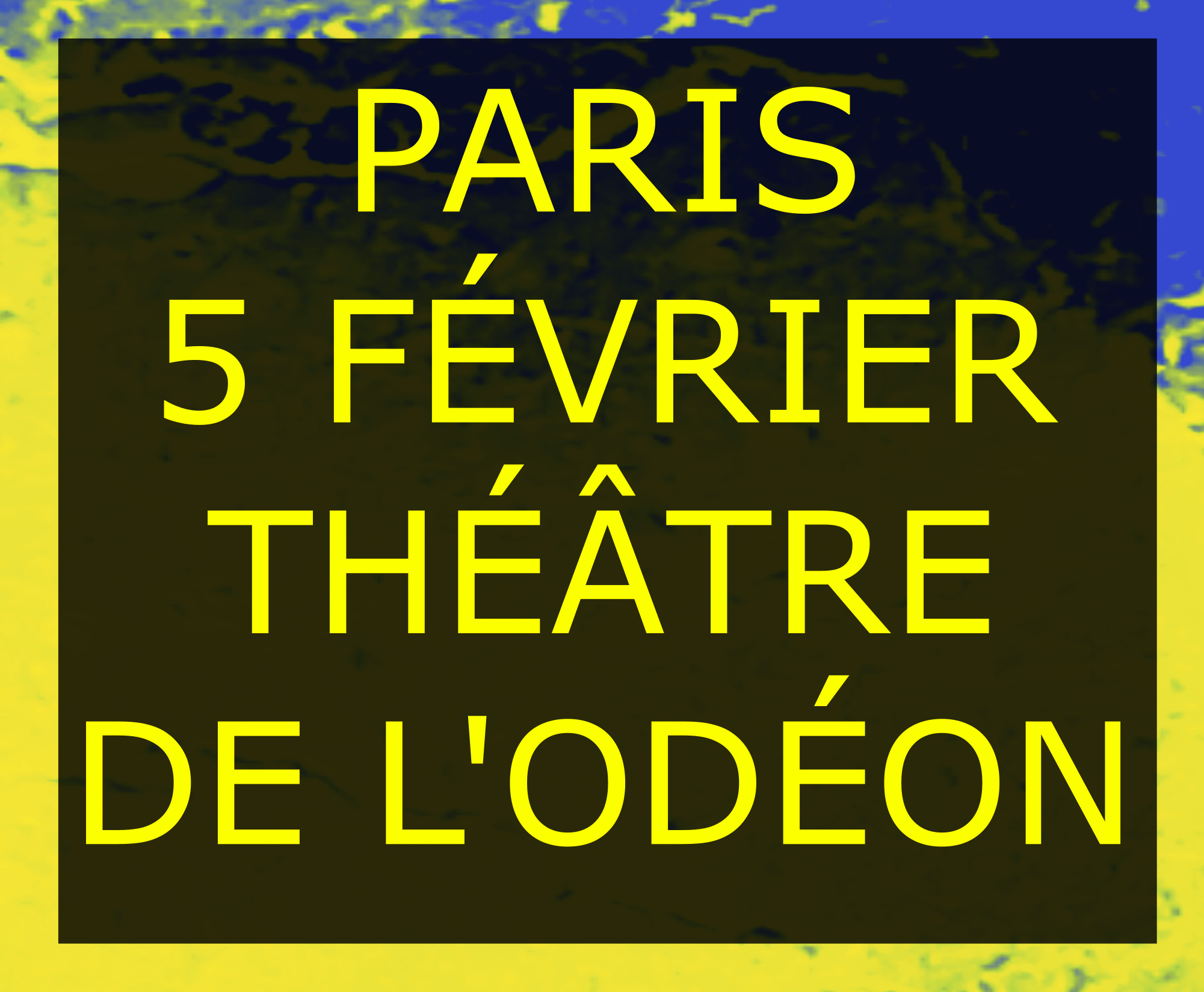 PARIS ODEON