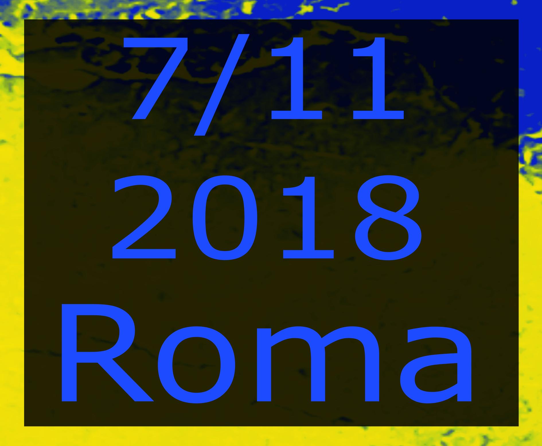 Roma 7 novembre 2018